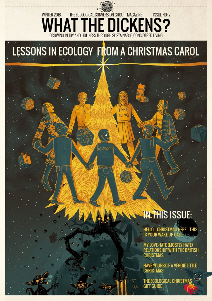 Ecological conversion group magazine cover Christmas edition