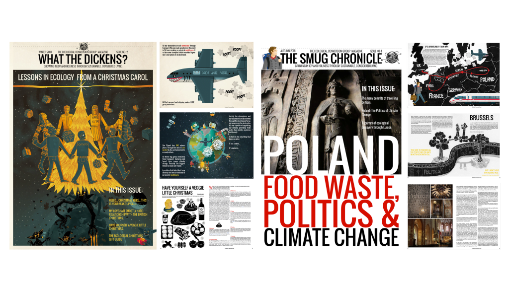 product image of the Ecological conversion group magazine
